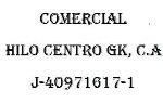 Comercial Hilo Centro GK, C.A