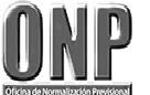 Oficina de Normalización Previsional - ONP